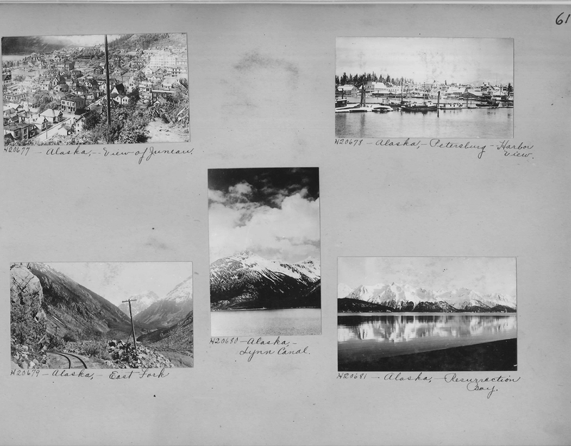 Mission Photograph Album - Alaska #1 page 0061
