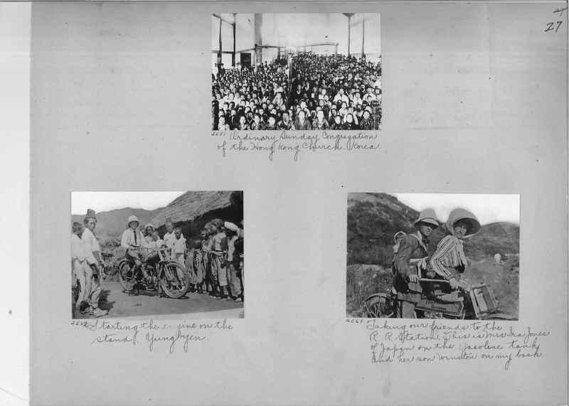 Mission Photograph Album - Korea #1 page 0027