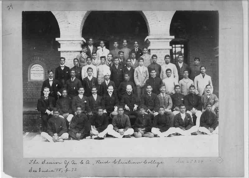 Mission Photograph Album - India - O.P. #01 Page 0024