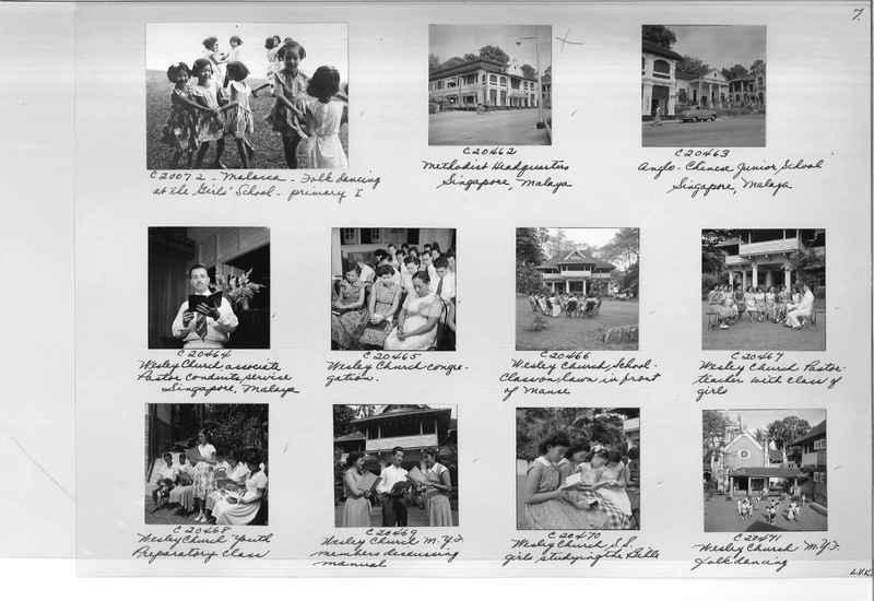 Mission Photograph Album - Malaysia #8 page 0007