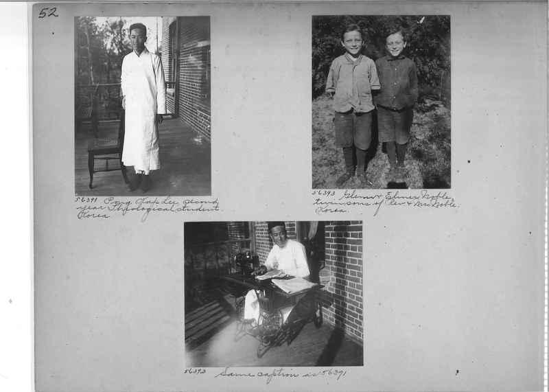 Mission Photograph Album - Korea #5 page 0052
