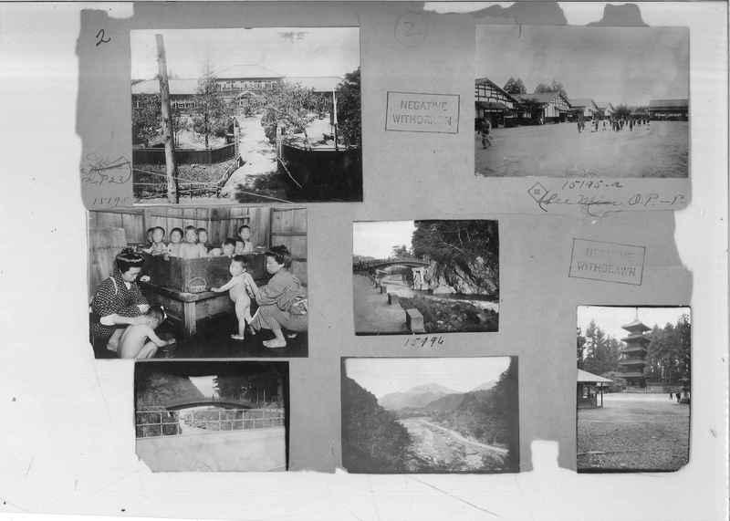 Mission Photograph Album - Japan #02 Page 0002