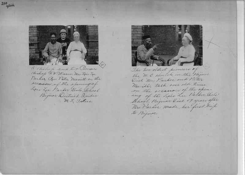 Mission Photograph Album - India - O.P. #01 Page 0200