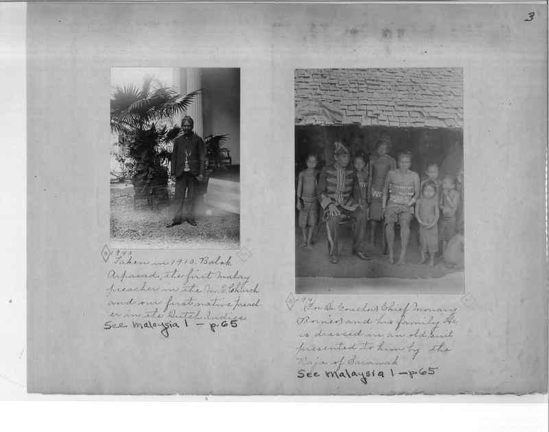 Mission Photograph Album - Malaysia O.P. #1 page 0003