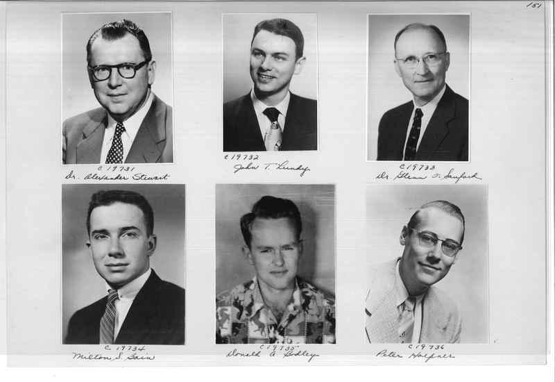 Mission Photograph Album - Portraits #08 Page 0151