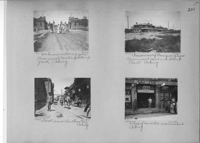 Mission Photograph Album - China #2 page  0201