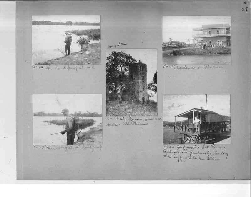 Mission Photograph Album - Panama #1 page  0029