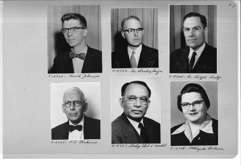 Mission Photograph Album - Portraits #08 Page 0087
