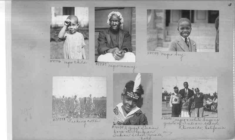 Mission Photograph Album - Negro #6 page 0003