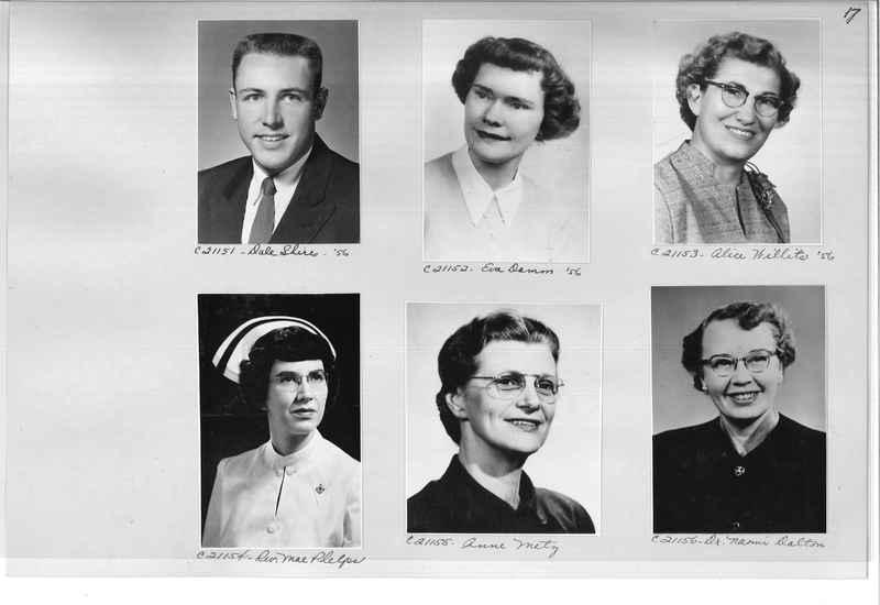 Mission Photograph Album - Portraits #10 Page 0017