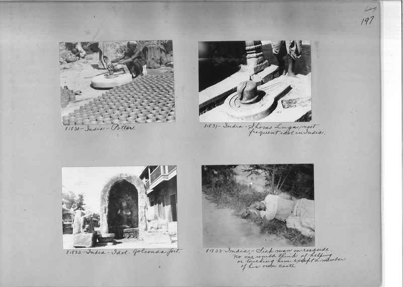 Mission Photograph Album - India #09 Page 0197