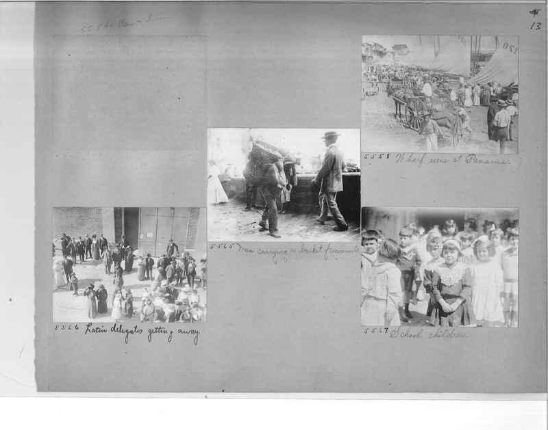 Mission Photograph Album - Panama #1 page  0013