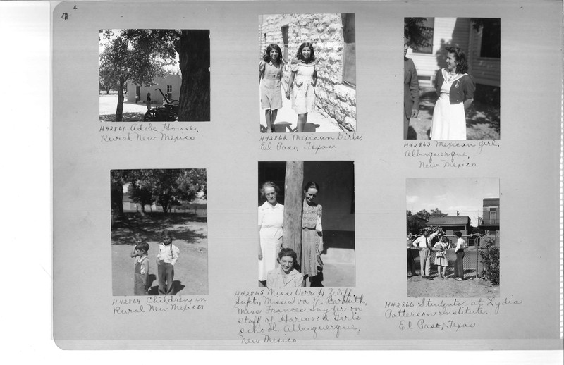 Mission Photograph Album - Latin America #3 page 0004