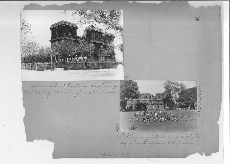 Mission Photograph Album - India - O.P. #02 Page 0035