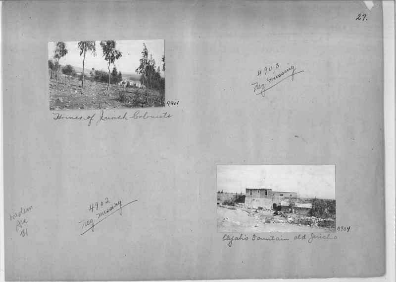 Mission Photograph Album - Western Asia - #01 page_0027