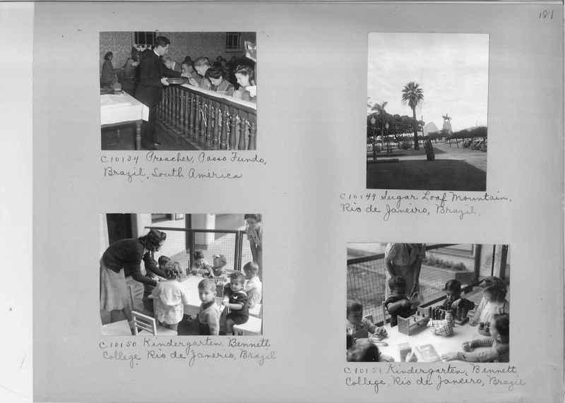 Misson Photograph Album - South America #8 page 0181