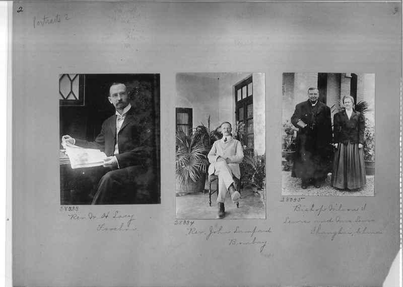 Mission Photograph Album - Portraits #2 page 0002
