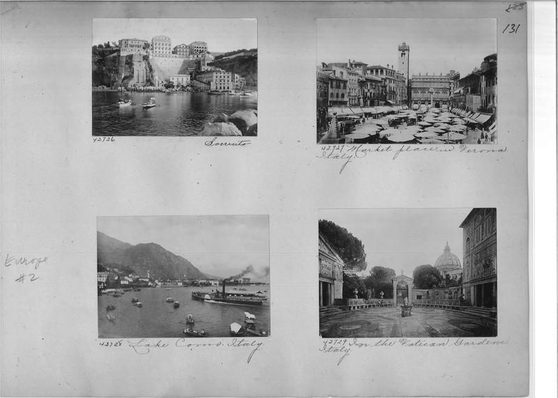 Mission Photograph Album - Europe #02 Page 0131