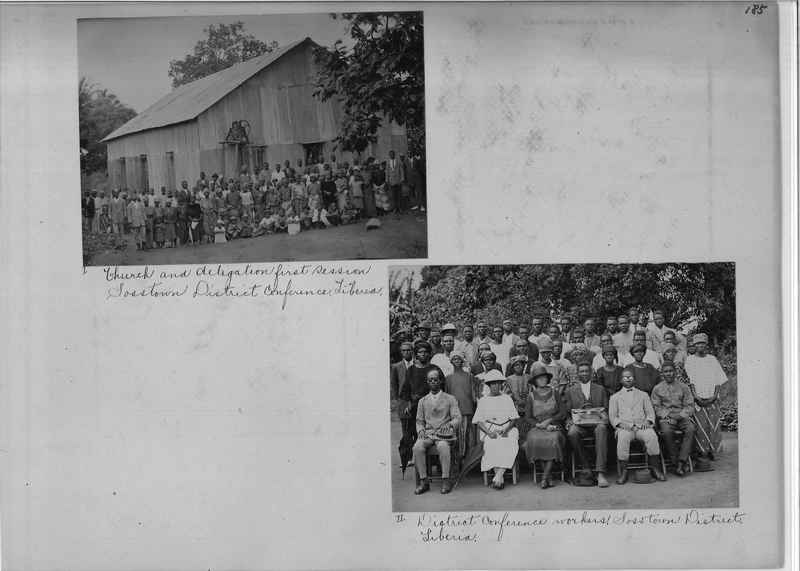 Mission Photograph Album - Africa O.P. #4 page 0185