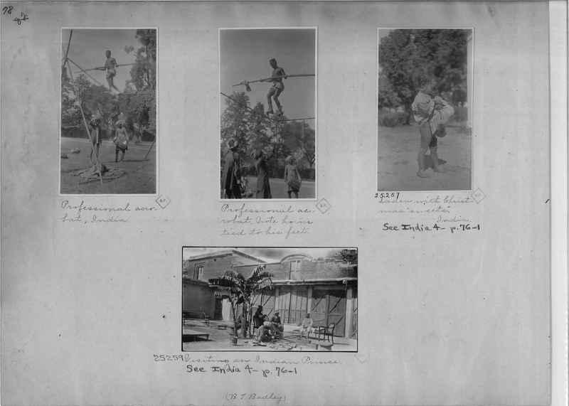 Mission Photograph Album - India - O.P. #01 Page 0078
