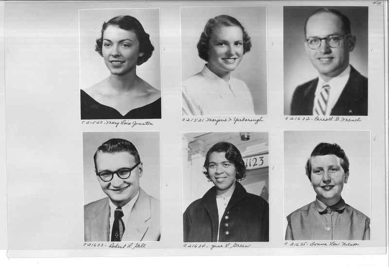 Mission Photograph Album - Portraits #10 Page 0049