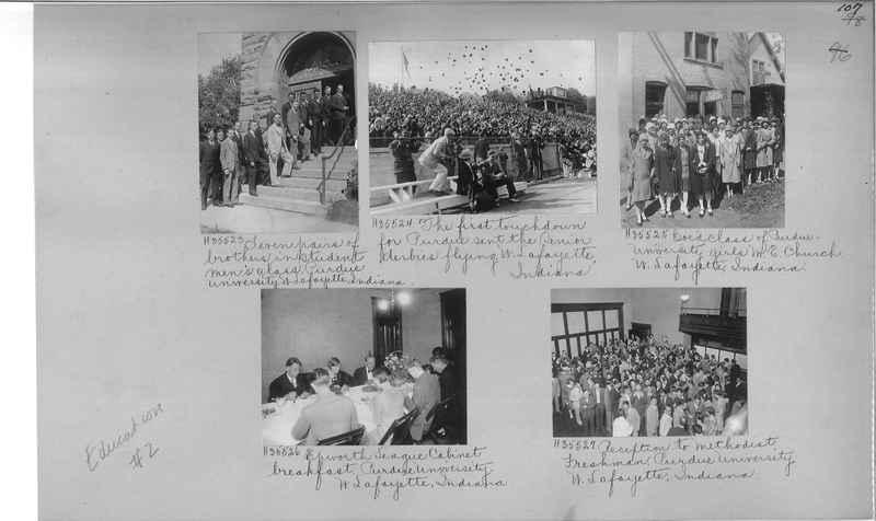 Mission Photograph Album - Education #2 page 0107