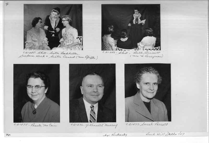Mission Photograph Album - Portraits #10 Page 0038
