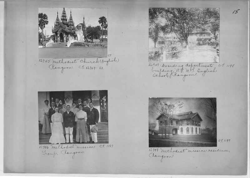 Mission Photograph Album - Burma #1 page 0015