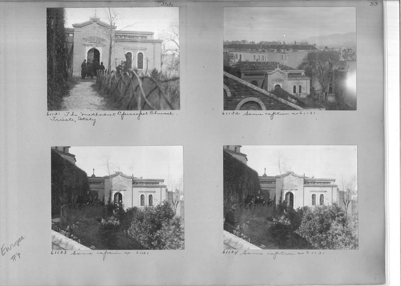 Mission Photograph Album - Europe #04 Page 0033