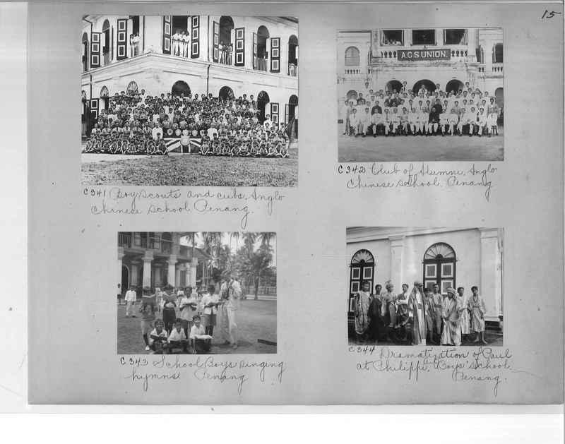Mission Photograph Album - Malaysia #7 page 0015
