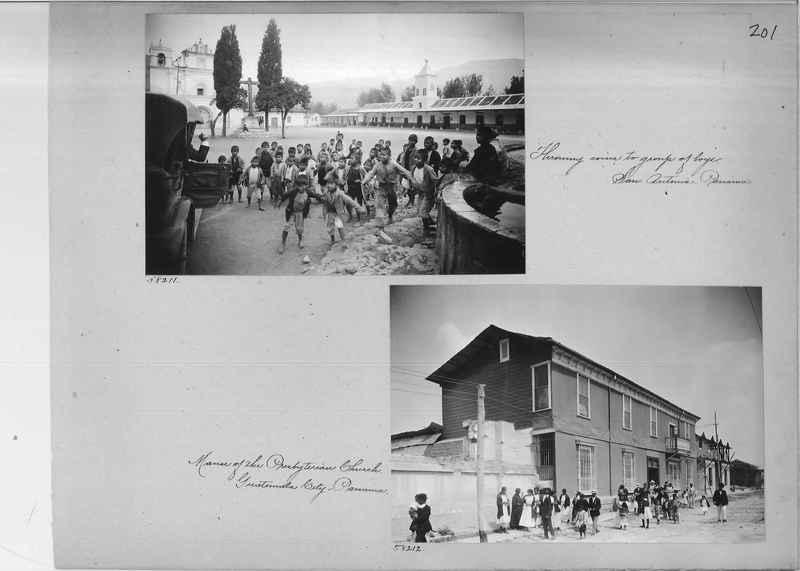 Mission Photograph Album - Panama #02 page 0201