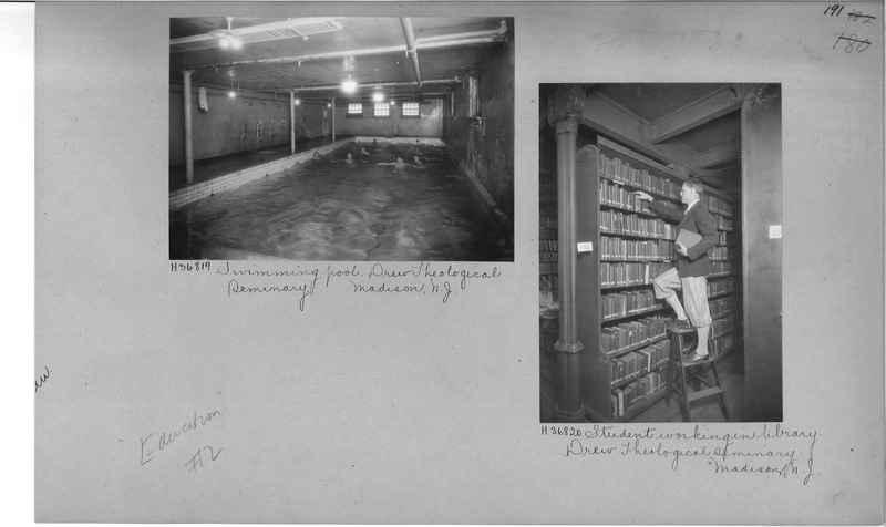 Mission Photograph Album - Education #2 page 0191