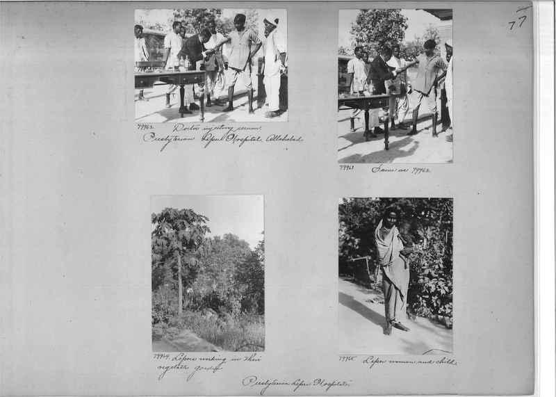 Mission Photograph Album - India #09 Page 0077
