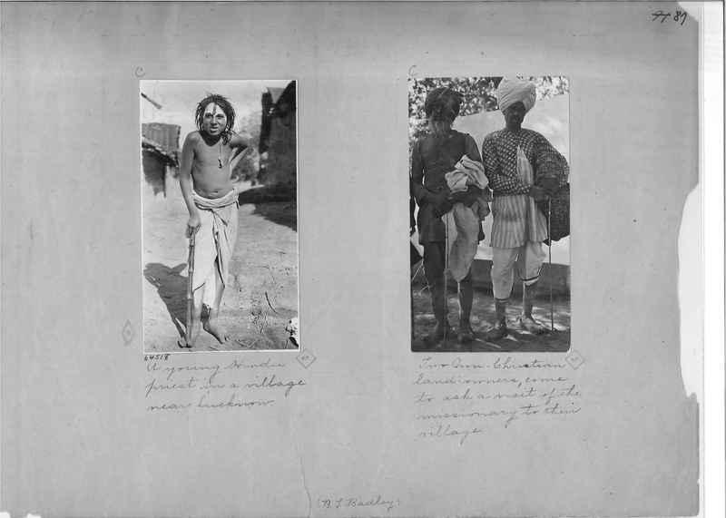 Mission Photograph Album - India - O.P. #01 Page 0087