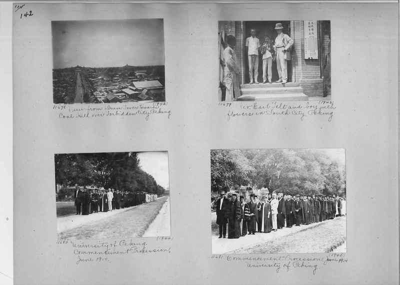 Mission Photograph Album - China #2 page  0142