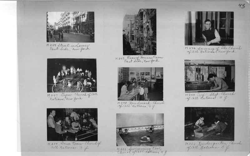 Mission Photograph Album - Cities #18 page 0043