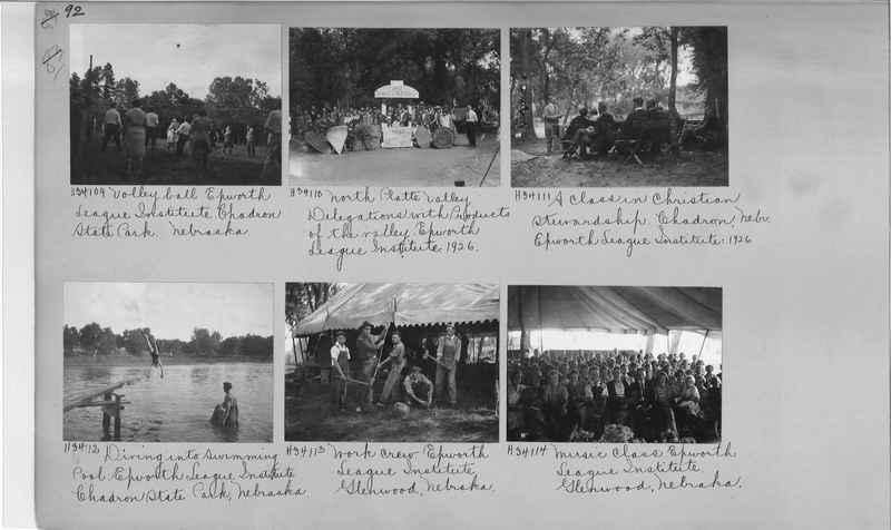 Mission Photograph Album - Education #2 page 0092