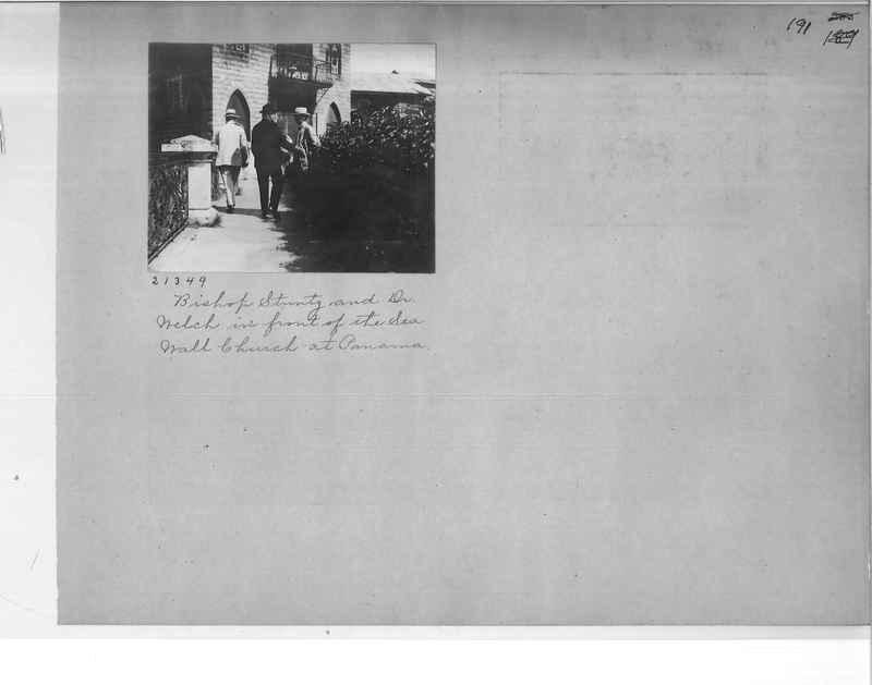 Mission Photograph Album - Panama #1 page  0191