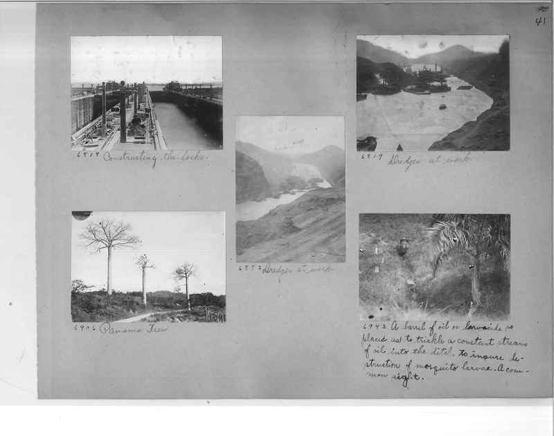 Mission Photograph Album - Panama #1 page  0041