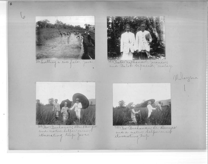 Mission Photograph Album - Malaysia #1 page 0006