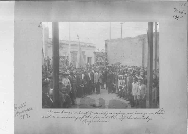 Mission Photograph Album - South America O.P. #2 page 0197