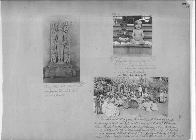 Mission Photograph Album - India - O.P. #01 Page 0035