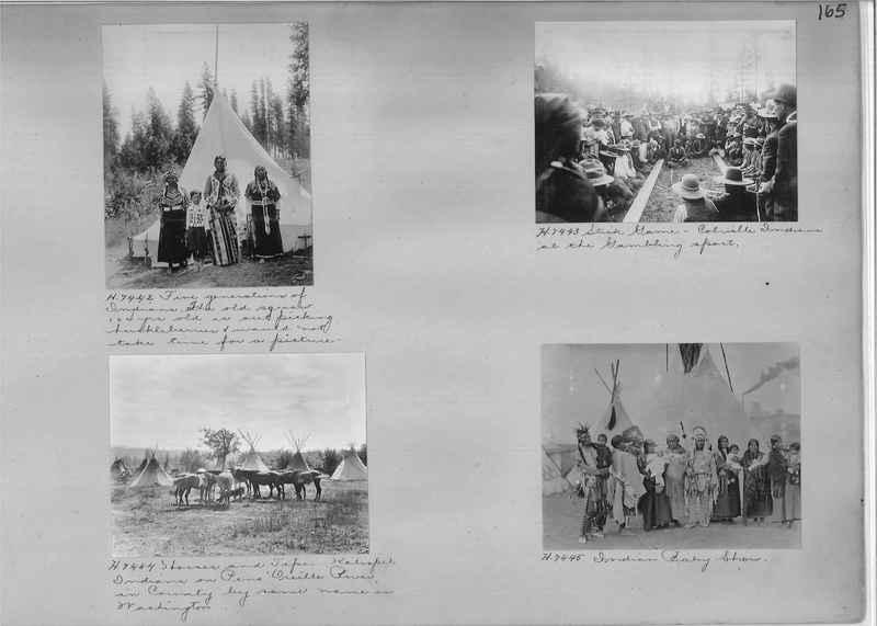 Mission Photograph Albums - Indians #1 page 0165