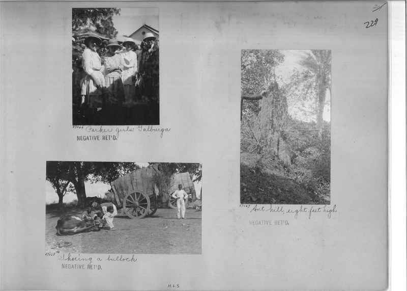 Mission Photograph Album - India #09 Page 0229