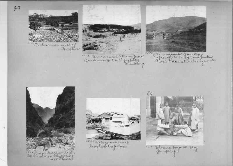 Mission Photograph Album - China #2 page  0030