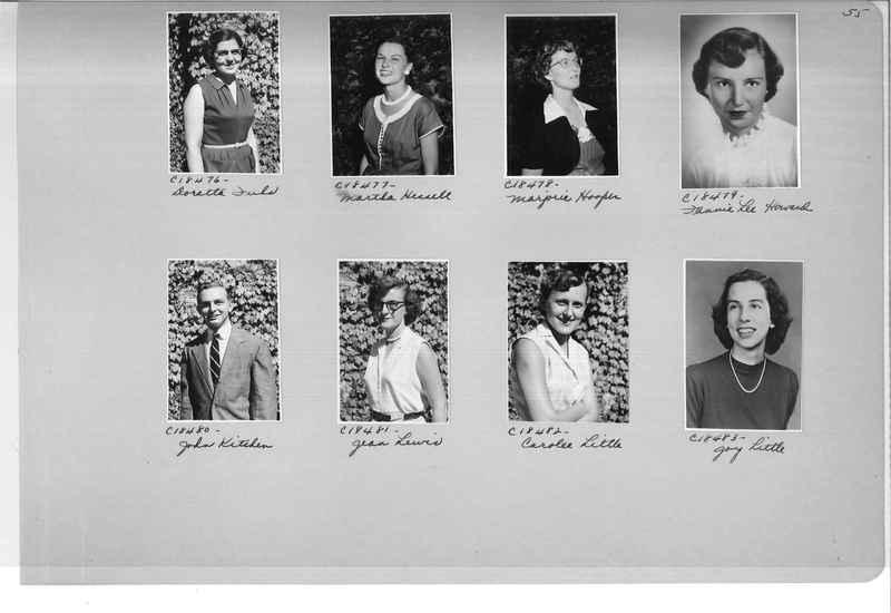 Mission Photograph Album - Portraits #08 Page 0055