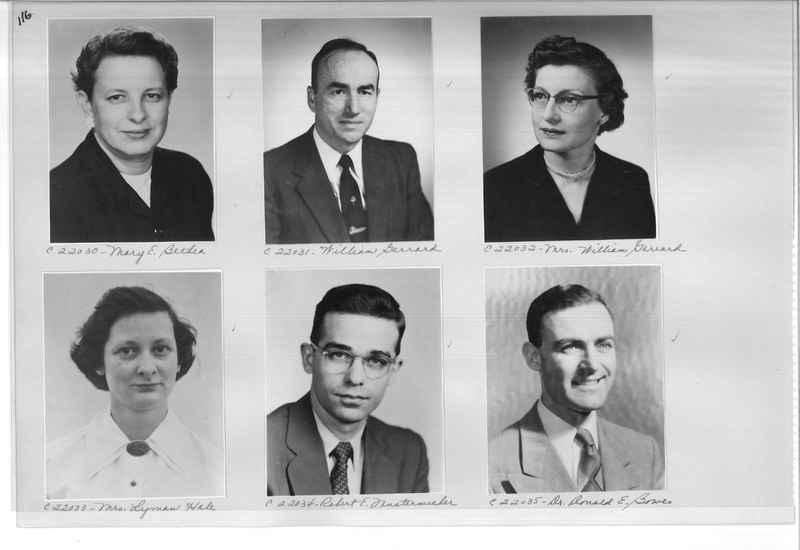 Mission Photograph Album - Portraits #10 Page 0116