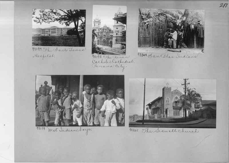 Mission Photograph Album - Panama #04 page 0217