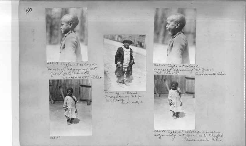 Mission Photograph Album - Negro #3 page 0050