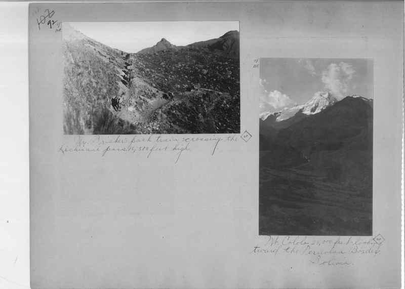 Mission Photograph Album - South America O.P. #2 page 0092